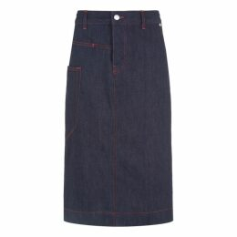 Joseph Kenneth Denim Stretch Skirt