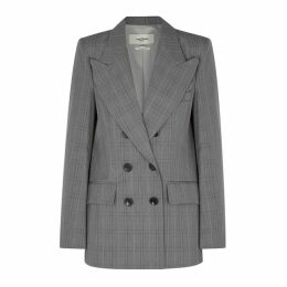 Isabel Marant Étoile Ilaine Checked Double-breasted Blazer
