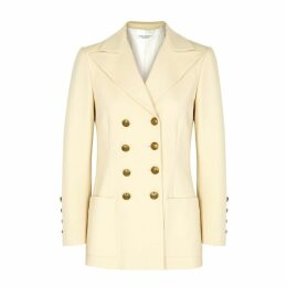 Philosophy Di Lorenzo Serafini Light Sand Double-breasted Blazer