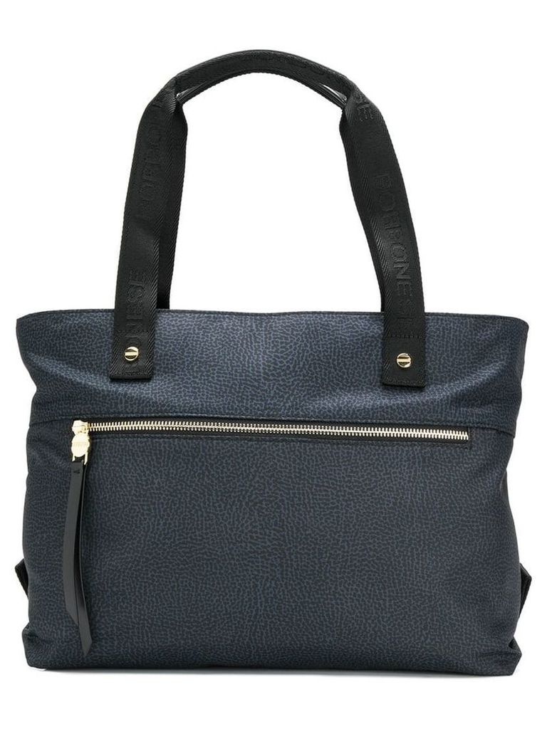 Borbonese shopper tote - Black