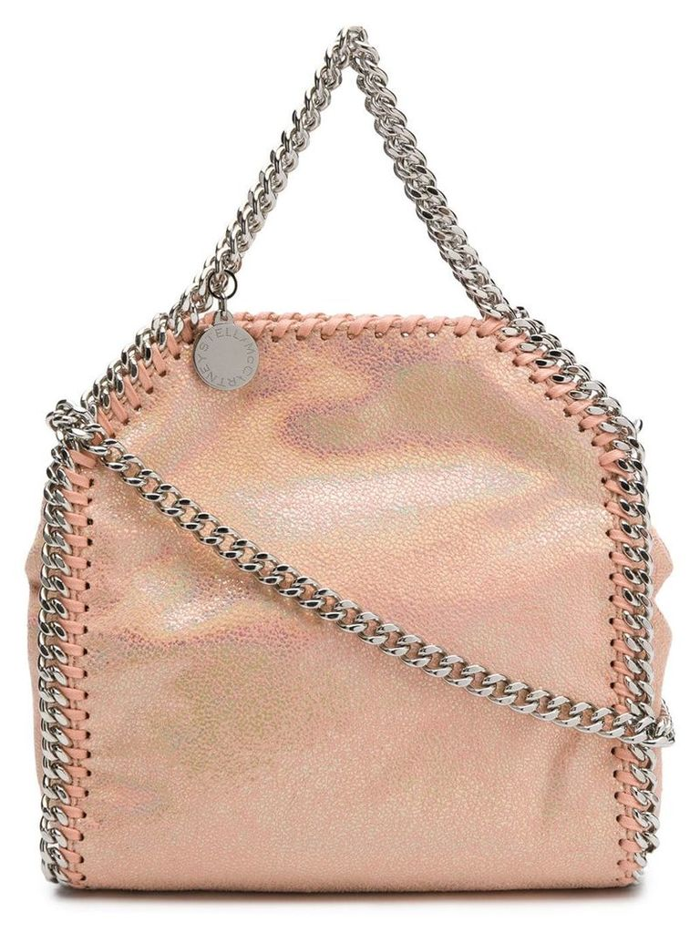 Stella McCartney Falabella holographic crossbody - Orange