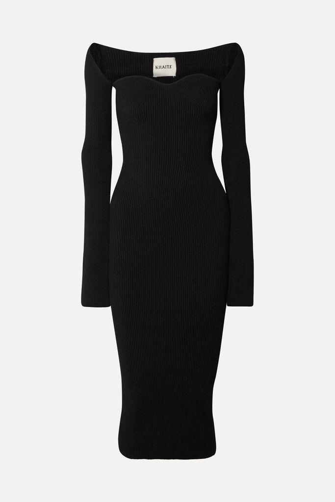 Miu Miu - Belted Wool Coat - Pink