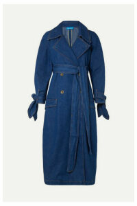 M.i.h Jeans - Audie Belted Denim Trench Coat - Mid denim