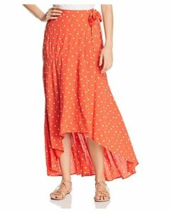 Perseverance London Margarita Embroidered Wrap Skirt
