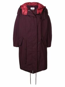 Isabel Marant Étoile oversized zipped coat - Red