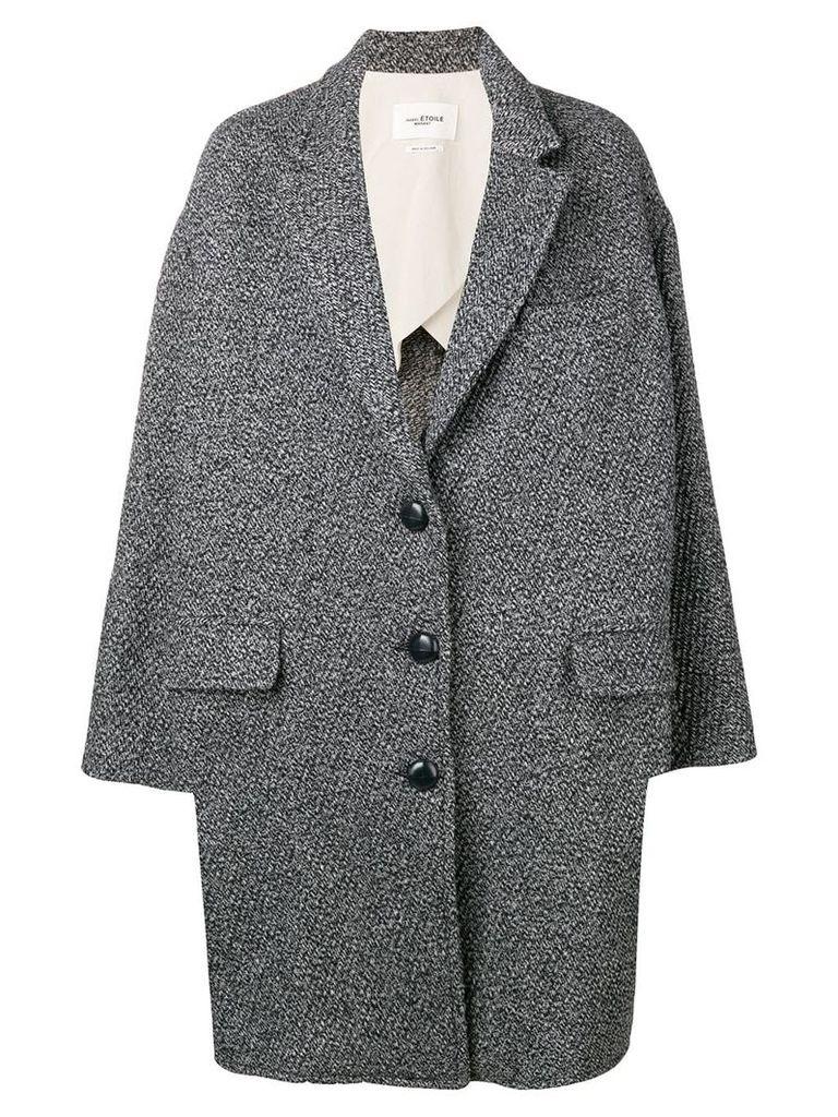 Isabel Marant Étoile oversized coat - Black