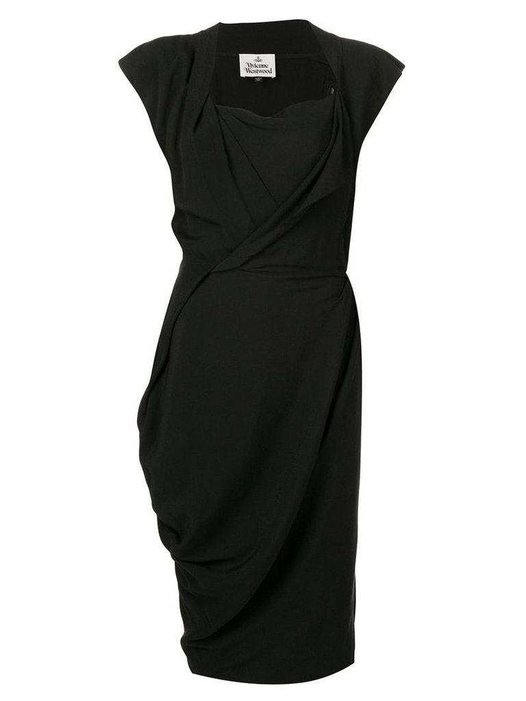 Vivienne Westwood shift midi dress - Black