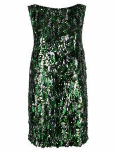 Prada sequinned mini dress - Green
