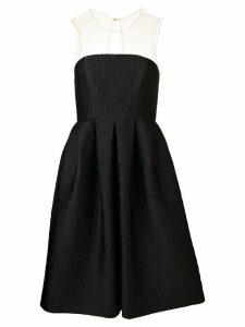 P.A.R.O.S.H. floral jacquard dress - Black