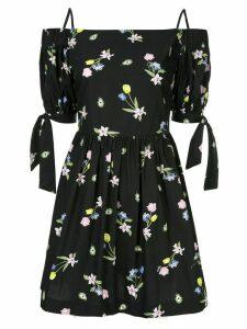 Vivetta floral print short dress - Black