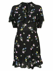 Vivetta floral print mini dress - Black