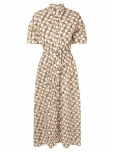 Kenzo polka dot shirt dress - Neutrals