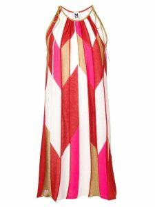M Missoni geometric print knit dress - Red