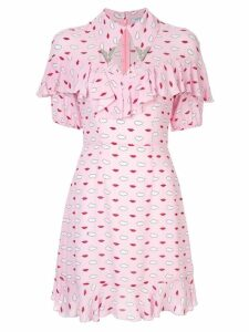 Vivetta lip print mini dress - Pink