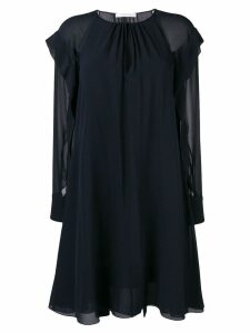 Chloé tie waist dress - Blue