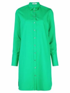 Jil Sander Ginepro shirt dress - Green