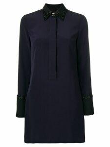 Victoria Victoria Beckham bead-embellished dress - Satin