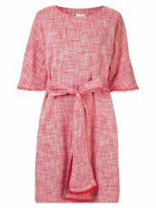 Lanvin 3/4 sleeve dress - Red