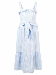 Vivetta striped sleeveless dress - Blue