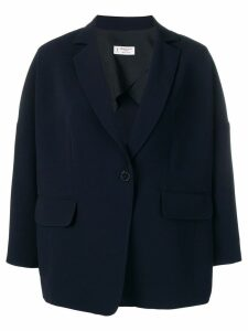 Alberto Biani loose fit blazer - Blue