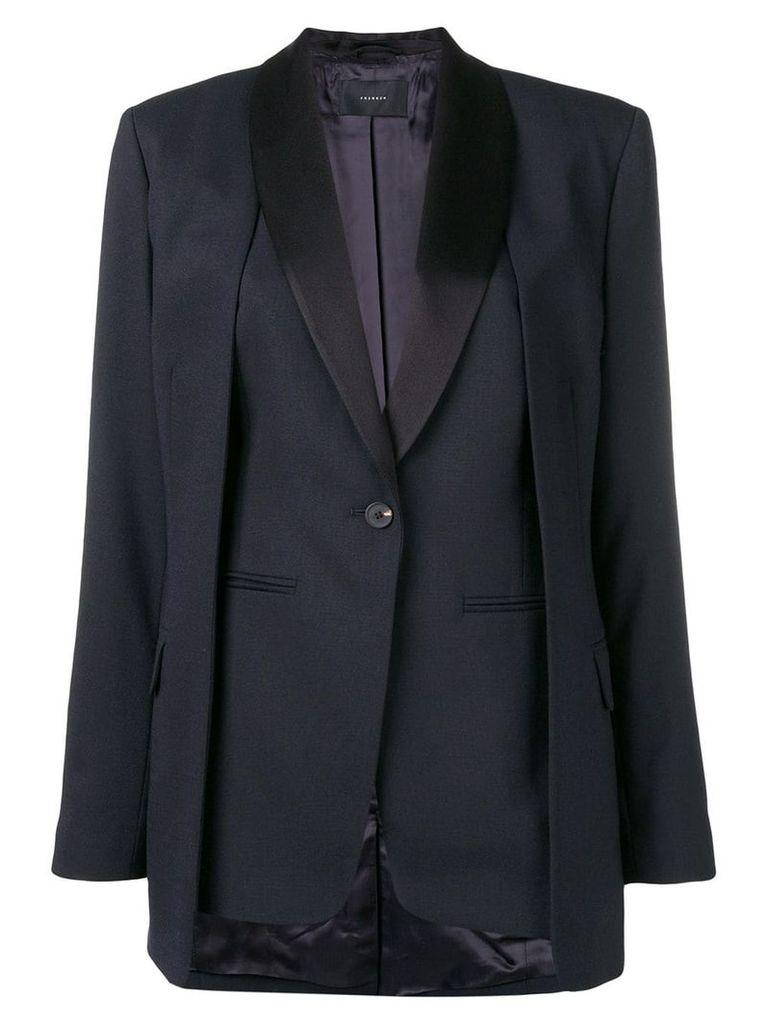 Frenken panelled blazer - Blue