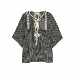 Isabel Marant Étoile Joya Embroidered Cotton Top