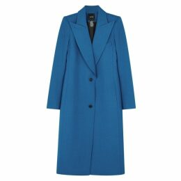 Smythe Blue Wool-blend Coat