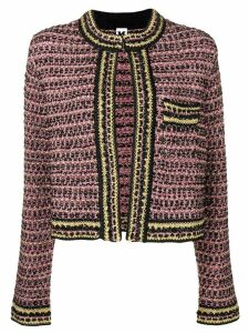 M Missoni classic tweed jacket - Purple