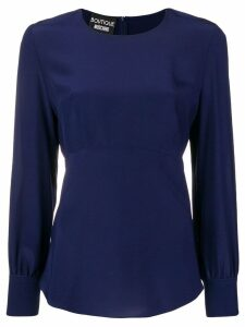 Boutique Moschino classic blouse - Blue
