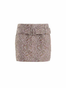 Prada Cloquet Mini Skirt