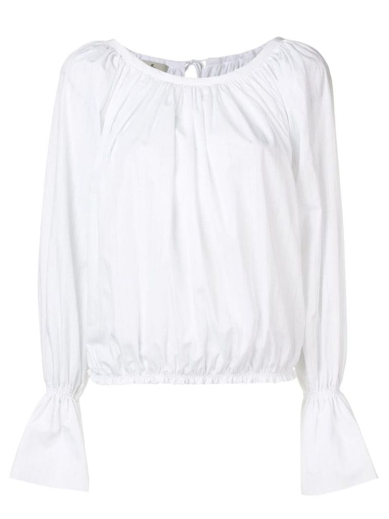 Vivienne Westwood long-sleeve fitted blouse - White