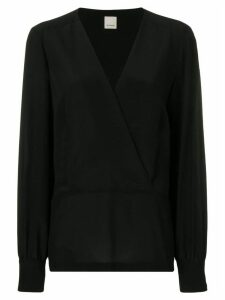 Pinko V-neck blouse - Black