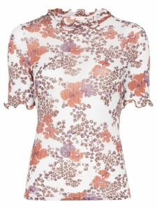 See By Chloé Floral Print Blouse - White