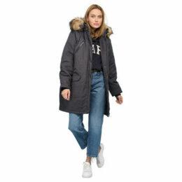 Rodier  Faux fur hooded parka  women's Parka in Grey