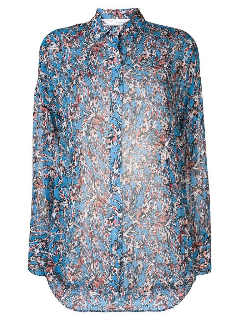 Iro Eager shirt - Blue