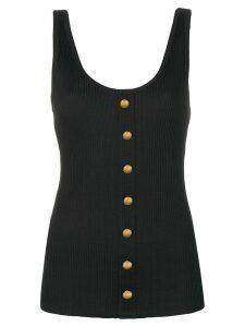 Balmain button detailed vest top - Black