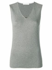 Fabiana Filippi v-neck tank top - Grey