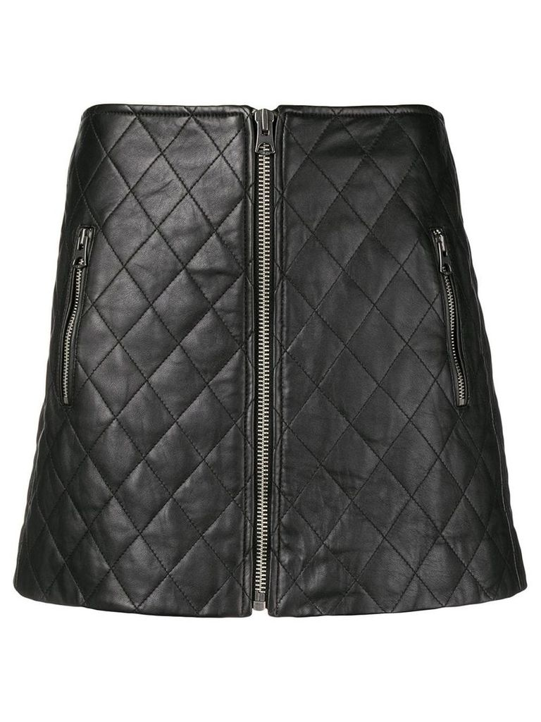 Isabel Marant Étoile Arily quilted skirt - Black