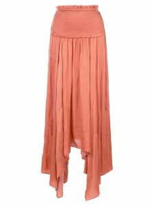 Ulla Johnson gathered waist skirt - Orange