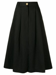 Forte Forte high-waist midi skirt - Black