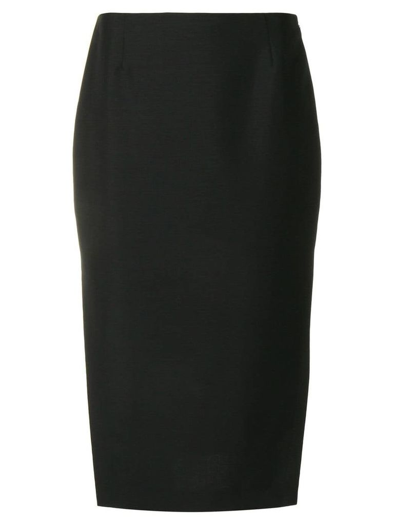Prada side slit skirt - Black