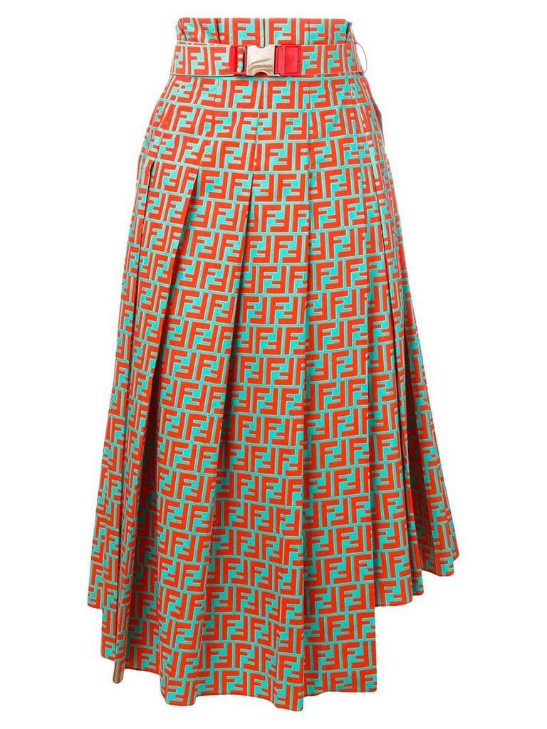 Fendi FF high-waisted skirt - Green