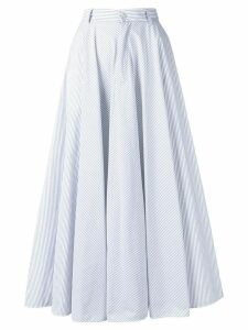 Mm6 Maison Margiela high-waisted midi skirt - White