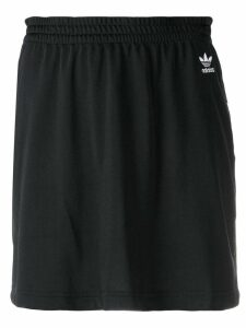 Adidas short logo skirt - Black