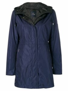 Fay plain raincoat - Blue