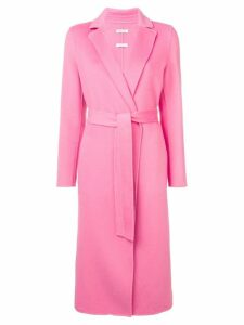 P.A.R.O.S.H. long belted coat - Pink