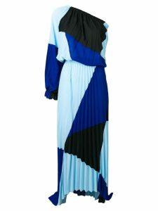 Just Cavalli colour block dress - Blue