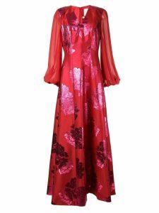 Ingie Paris floral dress - Red