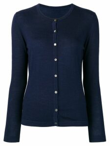 Sottomettimi fitted button cardigan - Blue