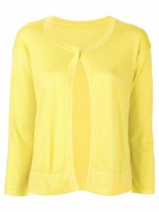 Sottomettimi one button cardigan - Yellow